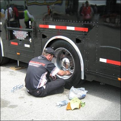 wheel clean