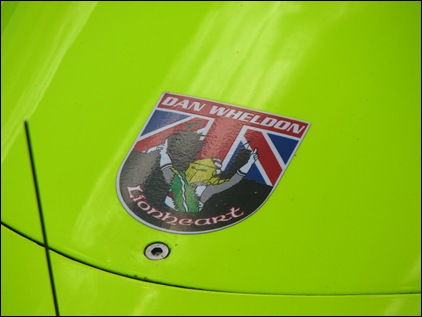 Wheldon Sticker