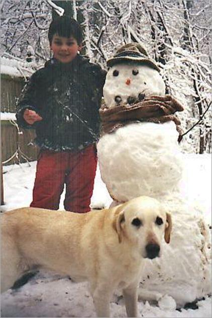 Neyland Snowman